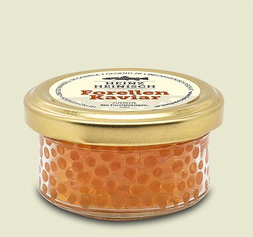 Heinisch Kaviar von der Forelle